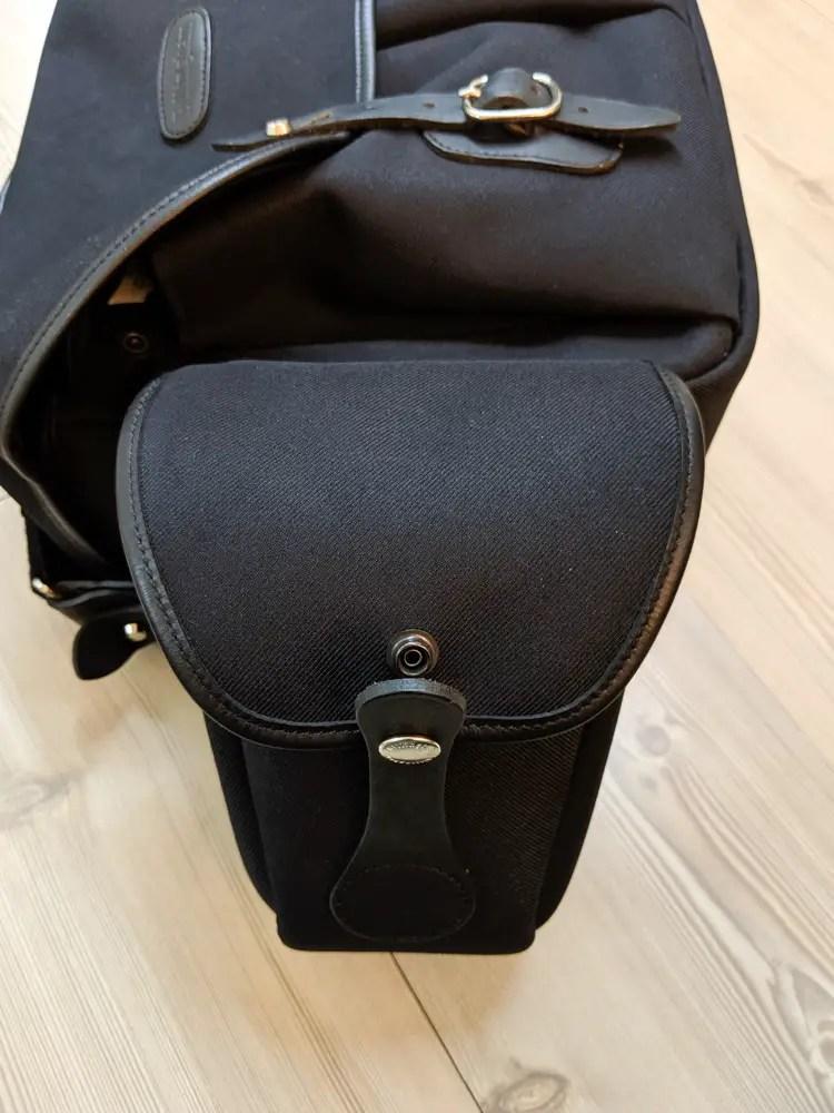 Billingham AVEA 8 end pocket (Latch open)