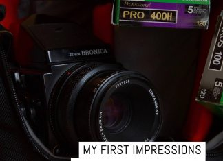 Cover: My first Impressions with the Bronica ETRSi