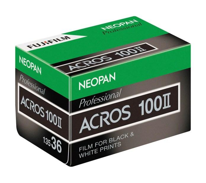 New Fujifilm NEOPAN 100 ACROS II