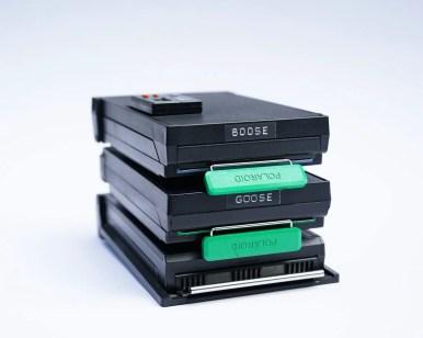 Polaroid 600SE, The Goose - Pack film backs
