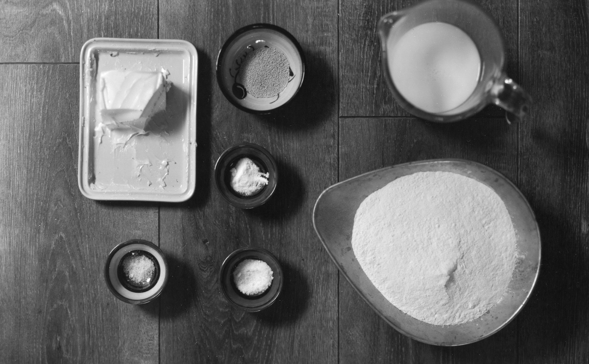 The ingredients - Ilford Pearl 8x10