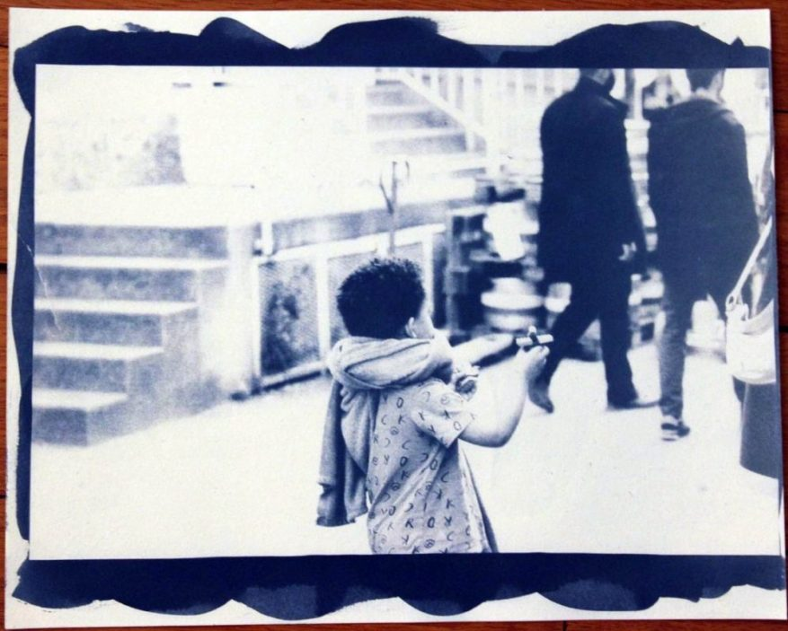 Anthony Chatain Cyanotype