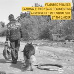 Cover: Saxonvale - two years documenting a brownfield industrial site - by Tim Gander