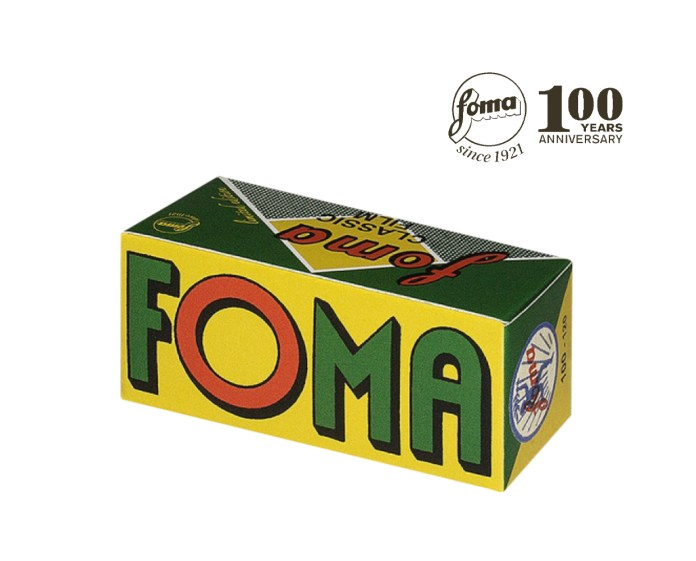 FOMAPAN 100 Classic Retro Limited Edition