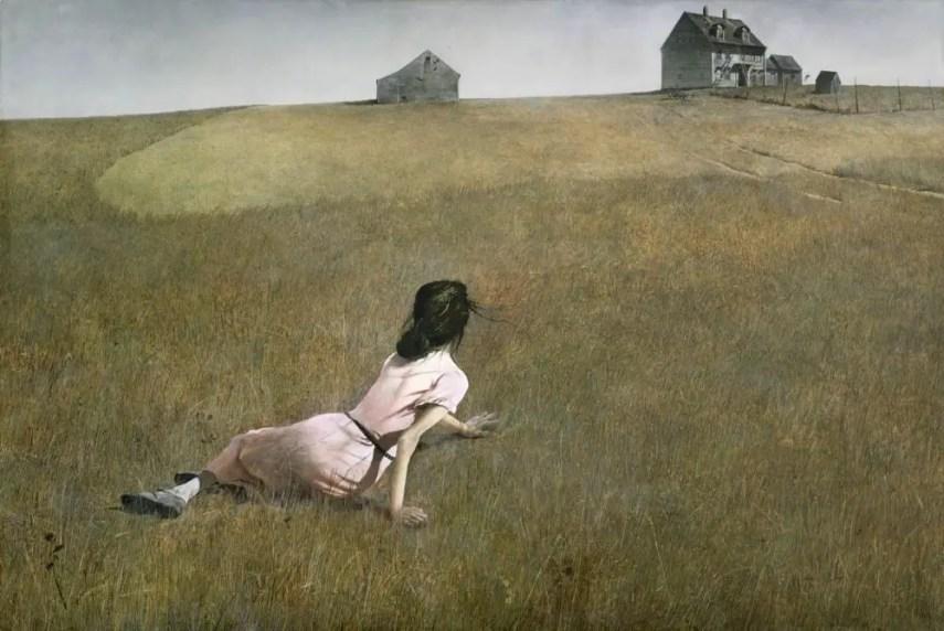 Andrew Wyeth Christina's World, MOMA
