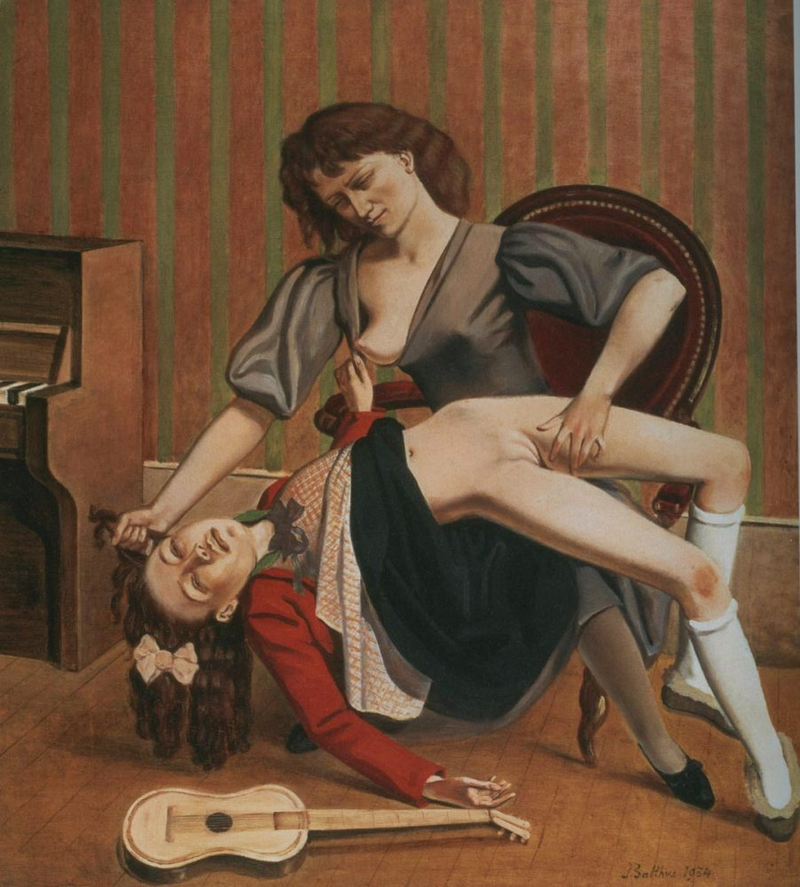 Balthus, Guitar Lesson