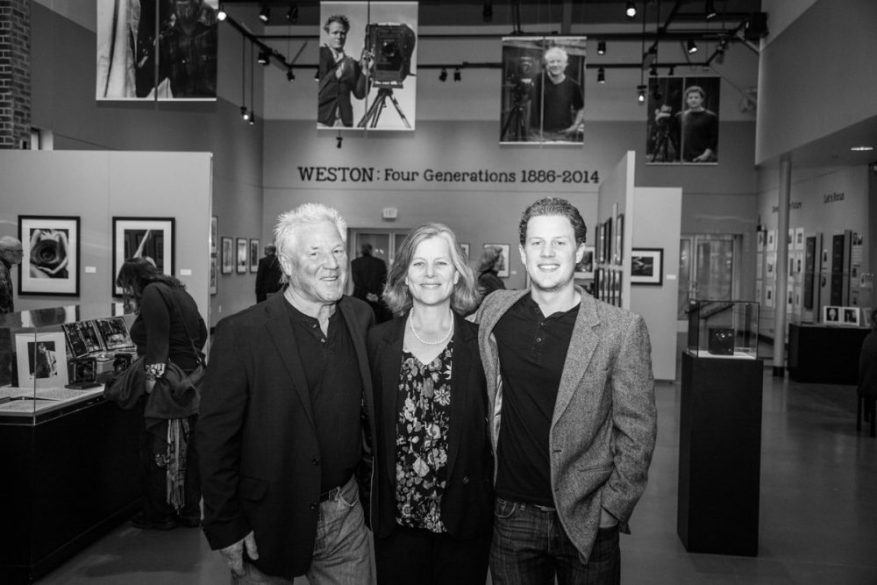 Kim, Gina and Zach at Four Gen Weston Steinbeck 2014 by Michelle Magdalena