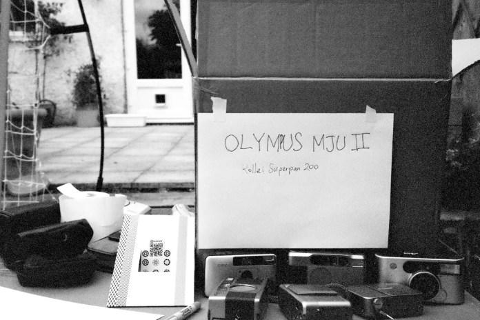 Olympus MJU II - Test Shot