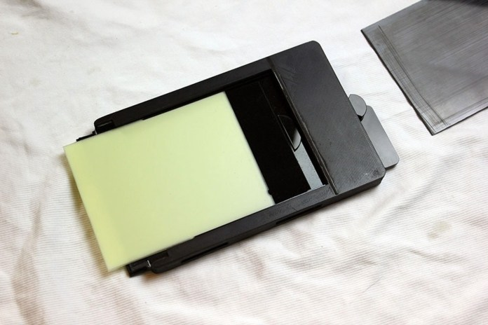 ChromaGraphica dry plate holder - final prototype