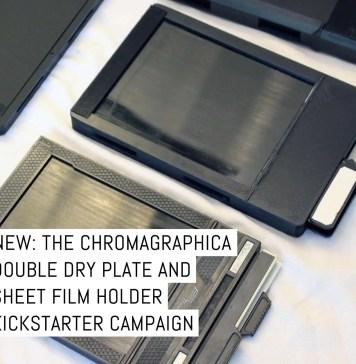 ChromaGraphica double dry plate and sheet film holder Kickstarter