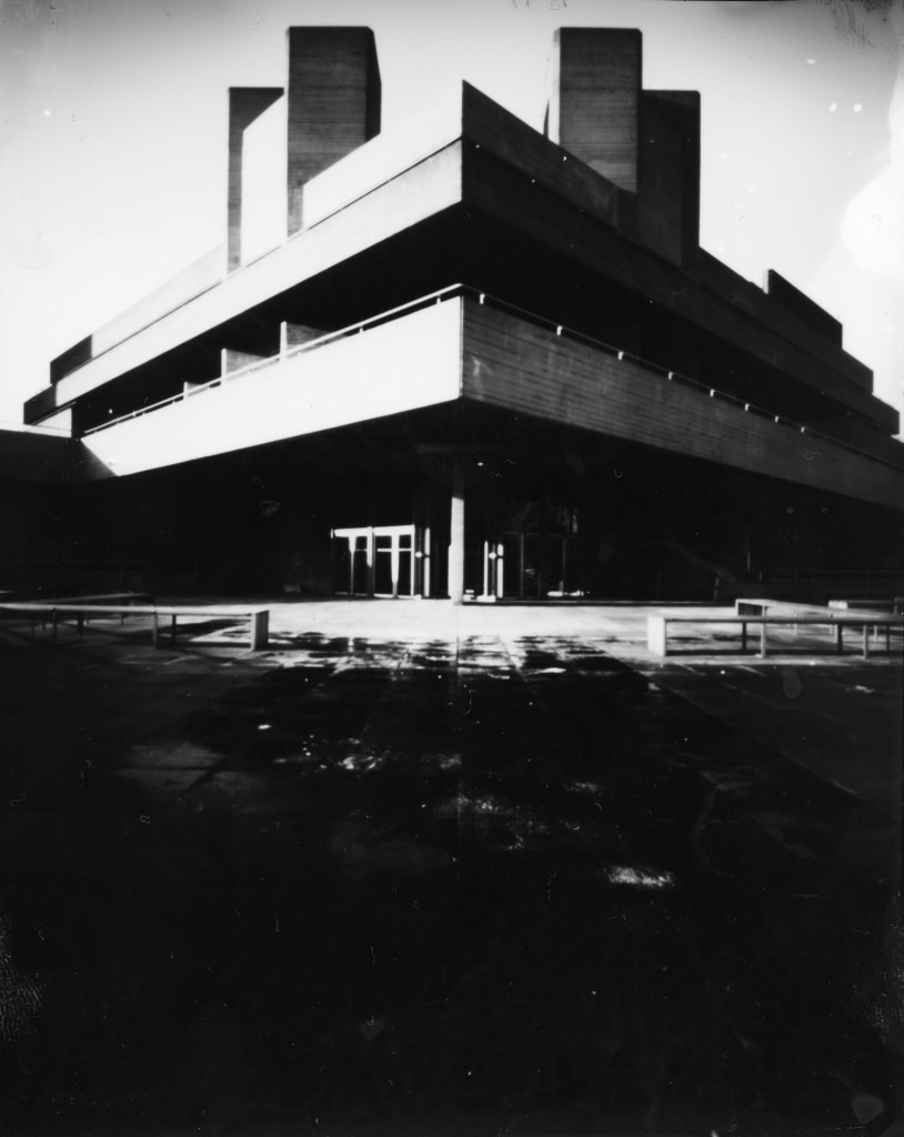 National Theatre, Ars Imago Direct Positive Paper, Harman Titan Pinhole