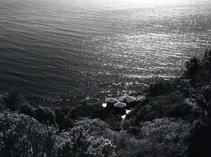 Pacific Coast Highway 2, California. Bronica ETRS, ILFORD SFX 200