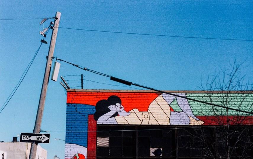 Lounging. Brooklyn, New York. Leica M3, Kodak Portra 160