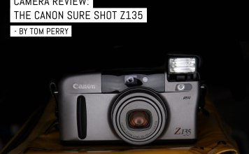 Camera review- The Canon SURE SHOT Z135 - by Tom Perry