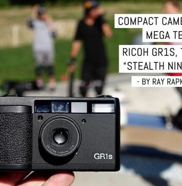 "Cover- Compact camera mega test- Ricoh GR1s, the ""stealth ninja"""