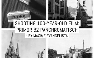 Shooting 100-year-old film: Primor B2 Panchromatisch - by Maxime Evangelista