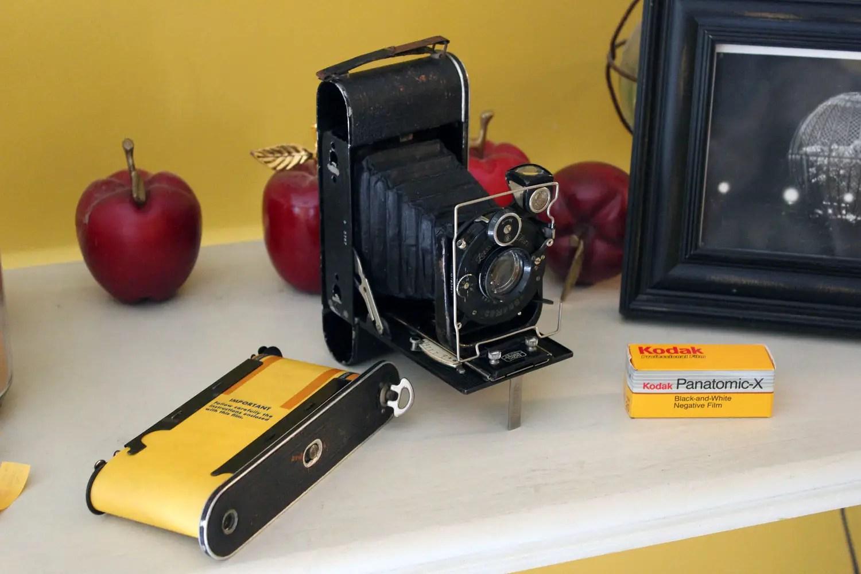 5 Frames With    Kodak Panatomic-X (EI 32 / 120 Format