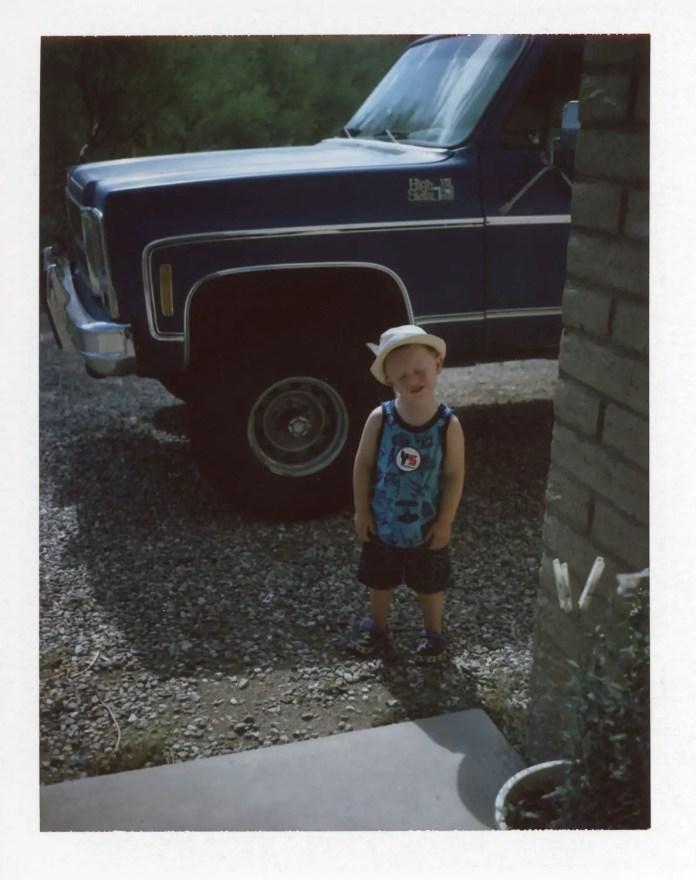 Unenthusiastic nephew, Fujifilm FP-100C