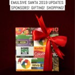 EMULSIVE Secret Santa 2019 updates: Sponsors! Gifting! Shopping!