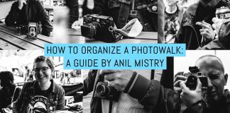 How to organize a photowalk: A guide by Anil Mistry