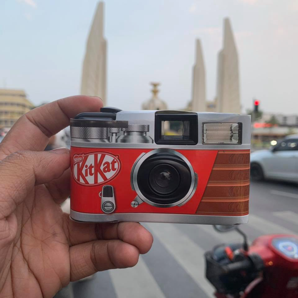 Greanfilm - Kit Kat film camera 7-11 Thailand