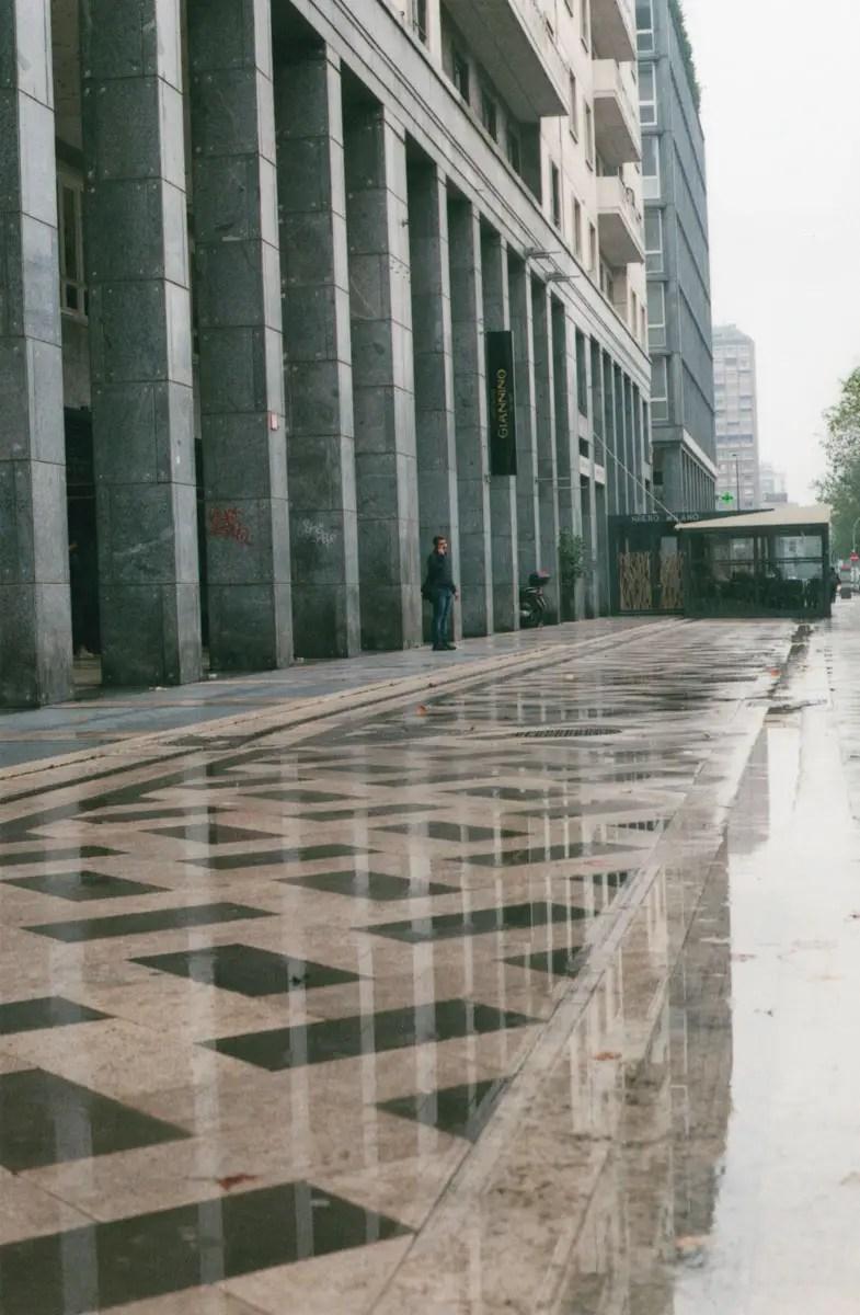 Milan, Rain