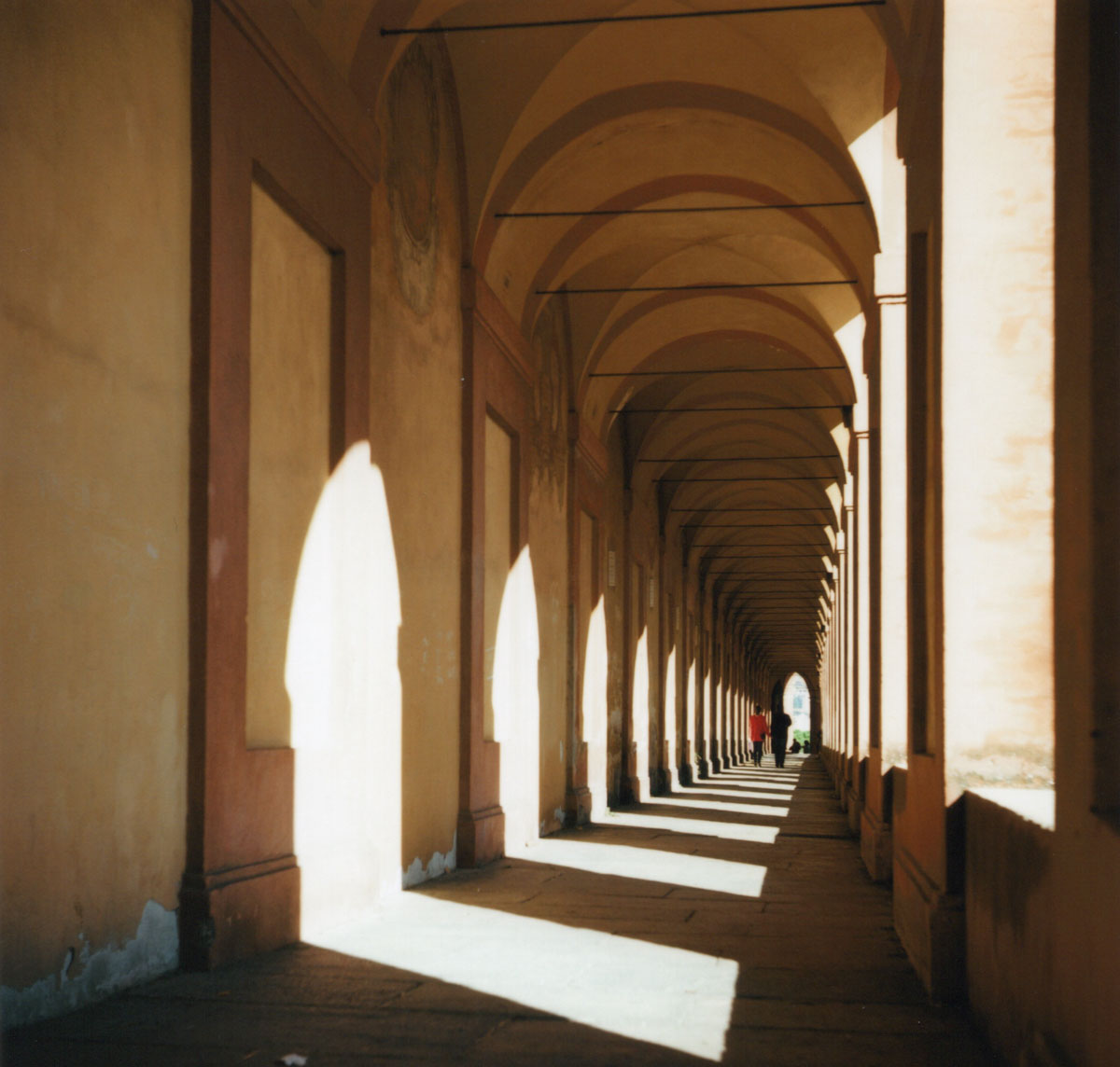 Porticoes Leading up to San luca