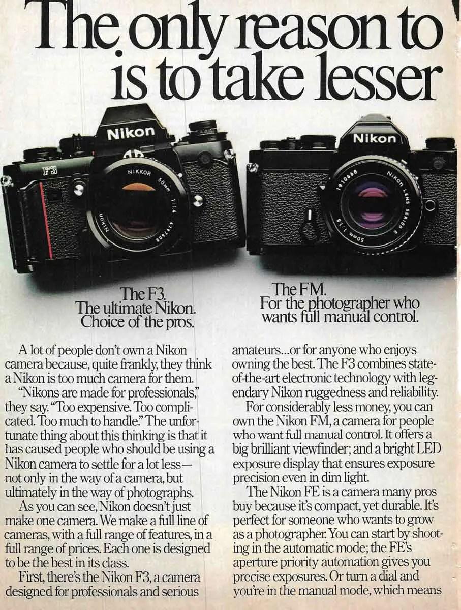 Nikon F3 + FM