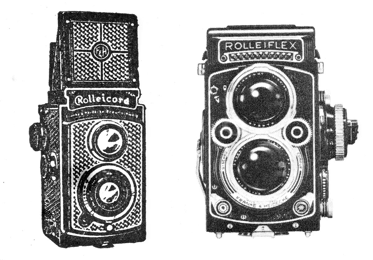 Rollei TLRs - early and late models