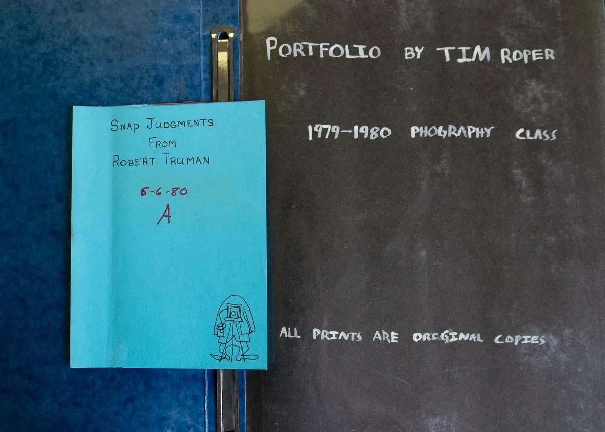 Tim Roper - School portfolio