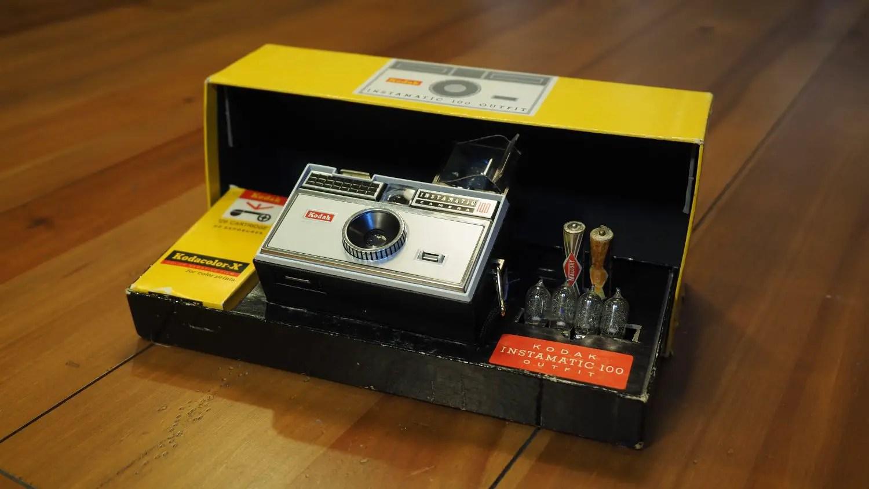 Kodak Instamatic 100 kit