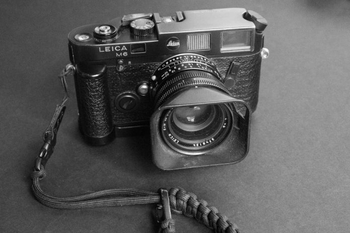 Leica M6 and a Summilux 35mm lens