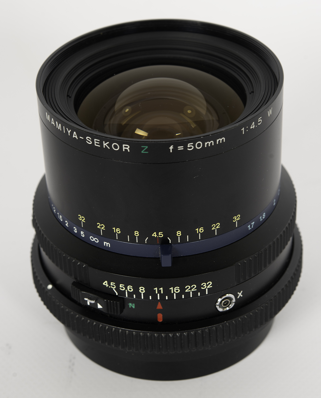 Mamiya Sekor Z 50mm f/4.5W