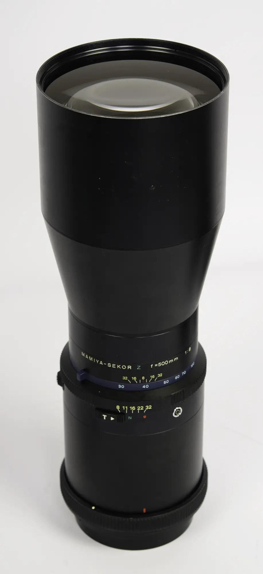 Mamiya Sekor Z 500mm f/8