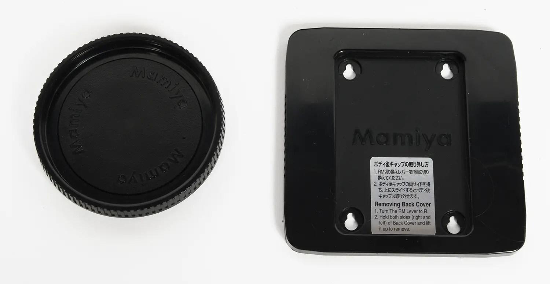 Mamiya RZ67 front and rear body caps