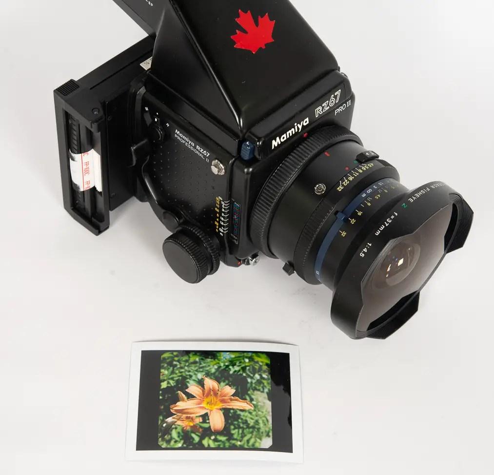 7x7cm peel apart film