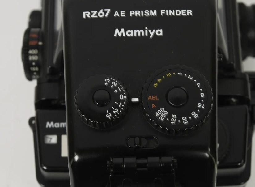 Mamiya RZ67 - FE701 EV compensation dial
