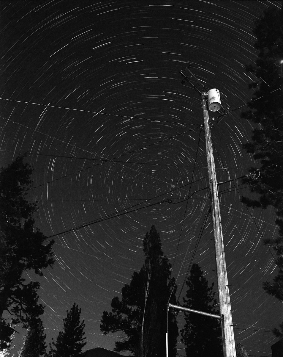 Big Bear, CA - Pentax 67ii, ILFORD HP5 PLUS (30min exposure)