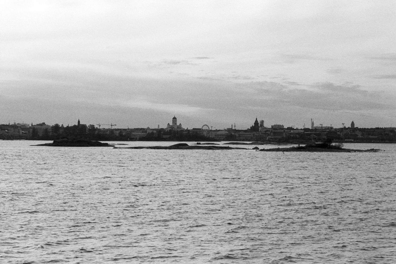 Helsinki skyline - Fomapan 400 Action