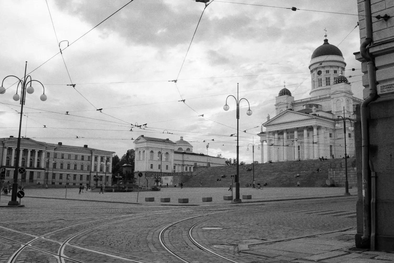 Helsingin tuomiokirkko - Fomapan 400 Action