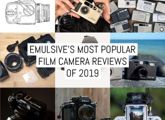 Cover- EMULSIVE's most popular film camera reviews of 2019