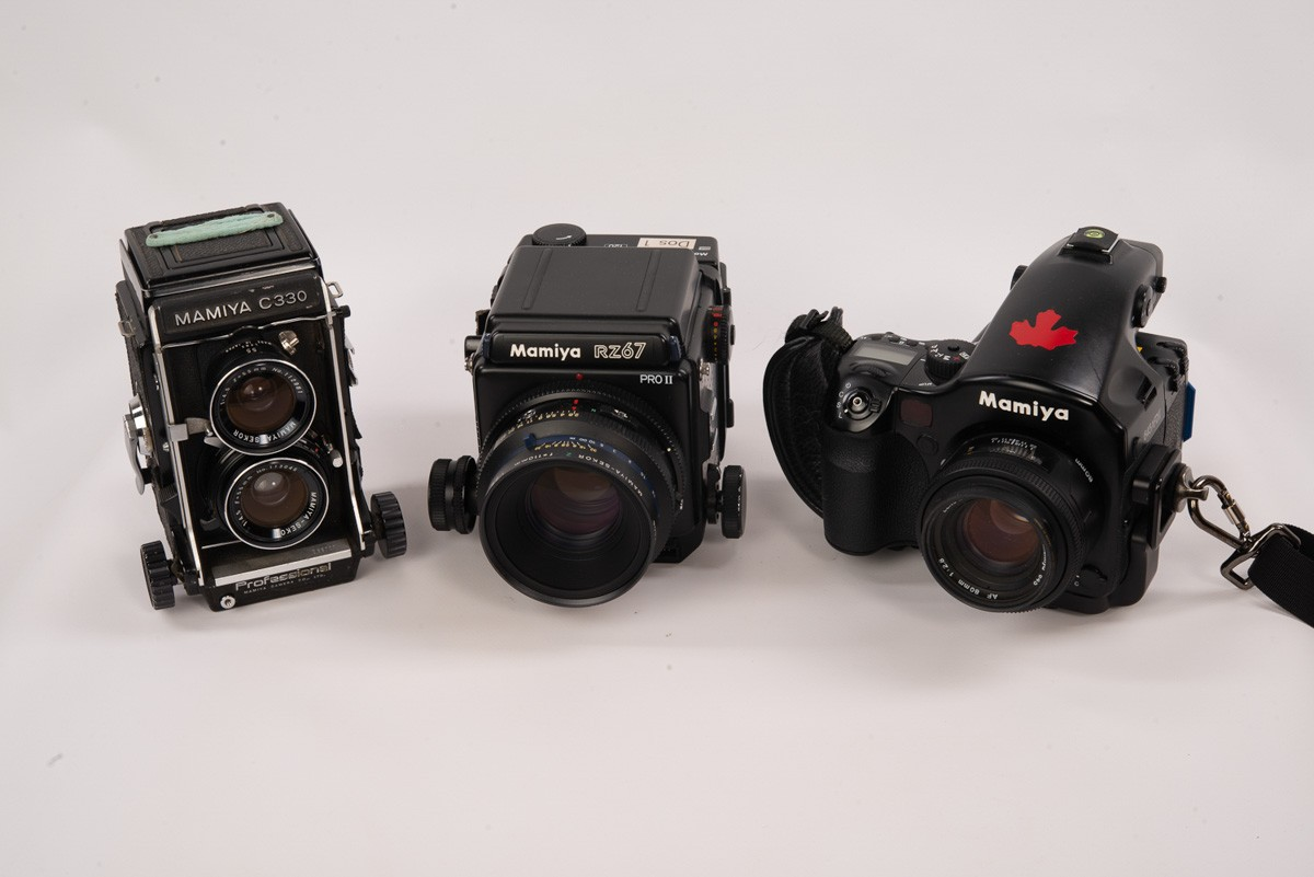 My Mamiya collection