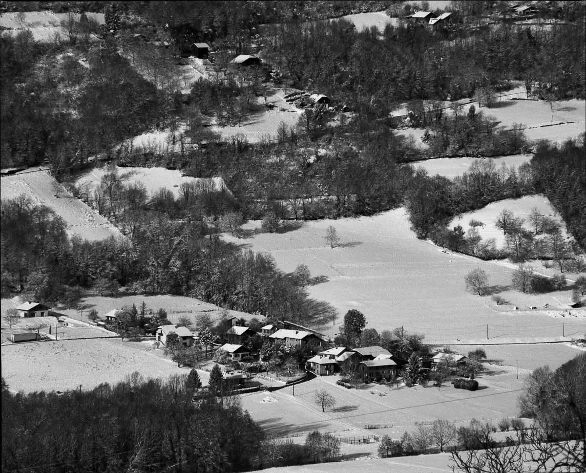 Mamiya RZ69 Pro II + 500mm f/8.0W - ILFORD FP4 PLUS - La Charrière (Savoie)