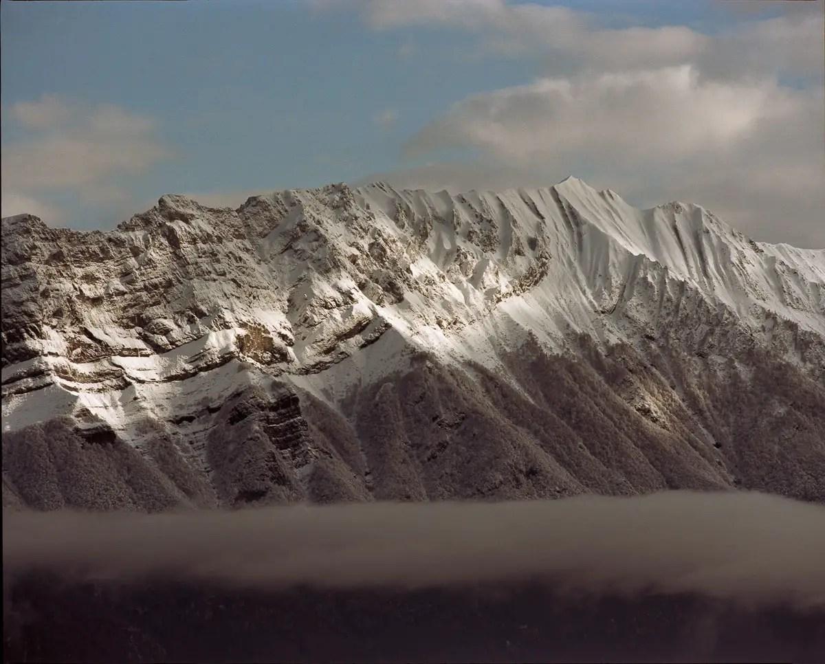 Mamiya RZ69 Pro II + 500mm f/8W - Kodak Portra 160 - Bauges (Savoie)
