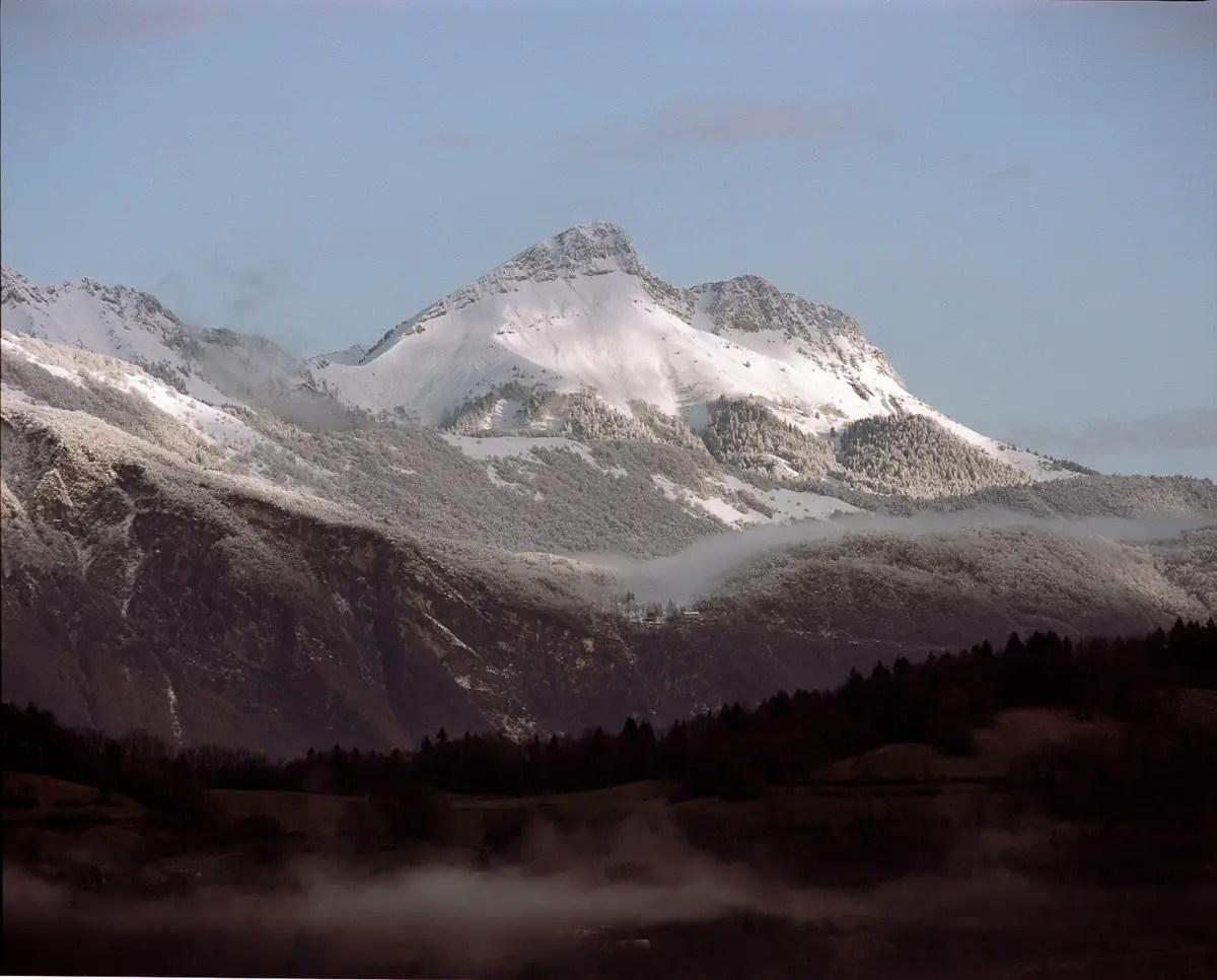 Mamiya RZ69 Pro II + 500mm f/8W - Kodak Portra 160 - Massif du Comombier (Savoie)
