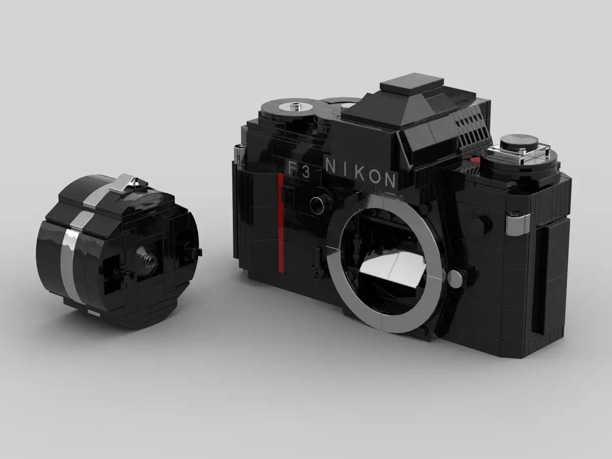 Nikon F3 with lens
