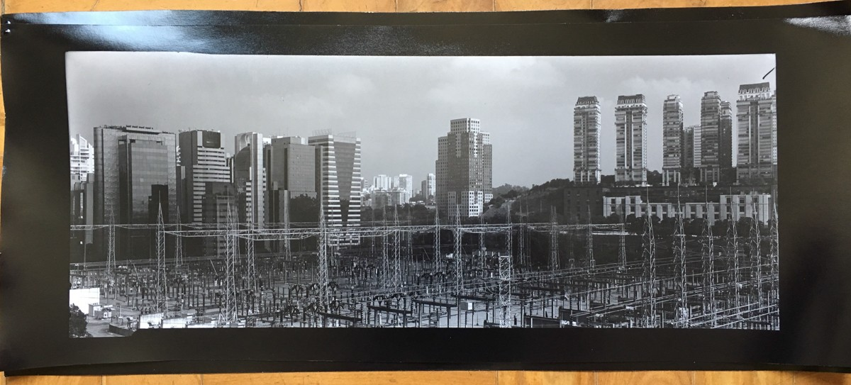"First 8x20"" contact proof. Power plant, squared in frame."