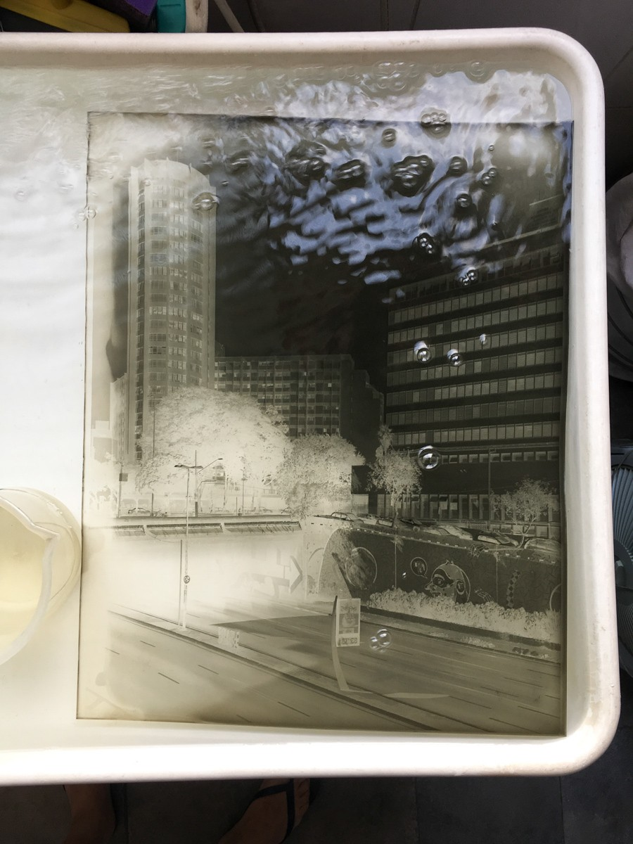 Negative of Hospital Perola Byington washing.