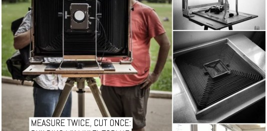 Measure twice, cut once- building my multi-format 8x20, 16x20 and 12x16 camera