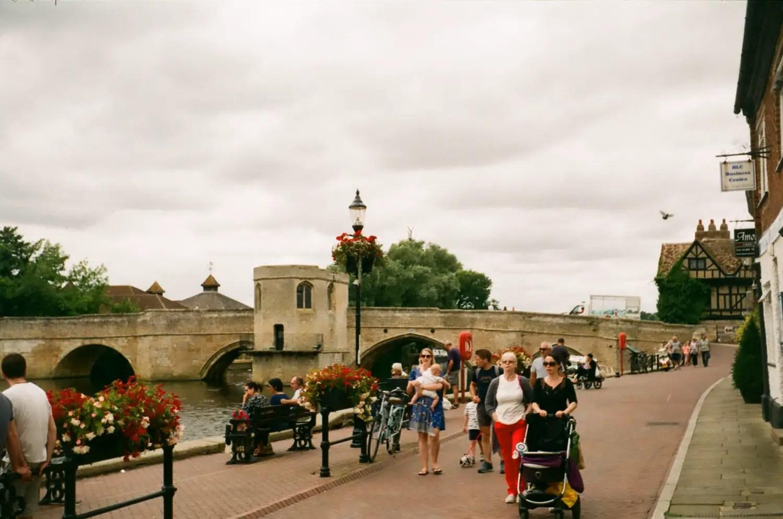 St. Ives, Cambridgeshire, 2018, Zeiss Ikon Contina 1a, Kodak ColorPlus 200 ASA